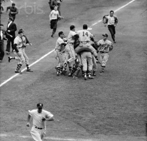 Milwaukee Braves Win World Series 1957