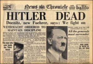 newspaper-headlines-hitler-dead
