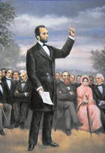abraham-lincoln-delivering-the-gettysburg-address-american-school