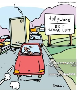 Hollywood - Exit Stage Left.