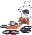 6ccfbdf83cd6b6bfacfd45112edb17a2-kid-illustration-record-player